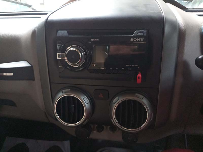 music system in mahindra thar