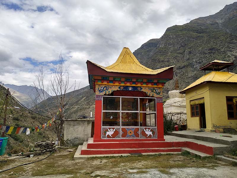 gompas in lahaul valley