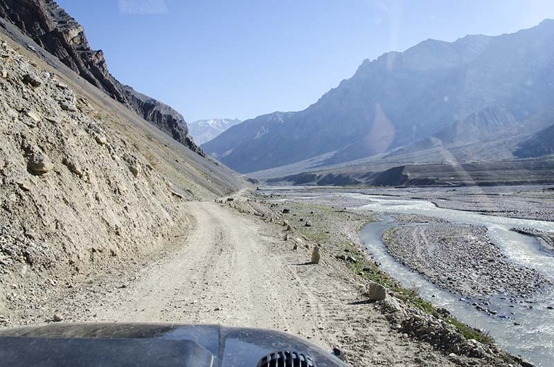 road conditions in pin valley