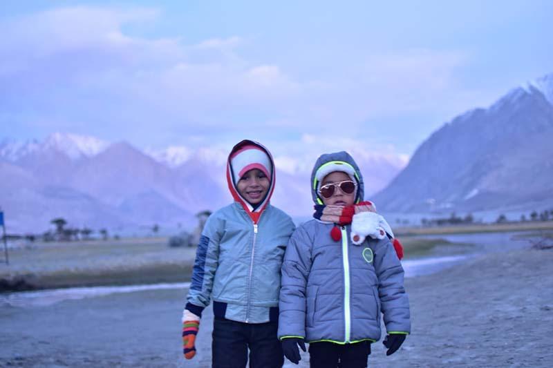 Ladakh Family Trip