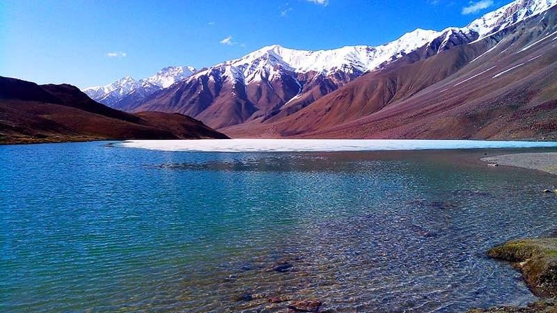 chandratal lake in june