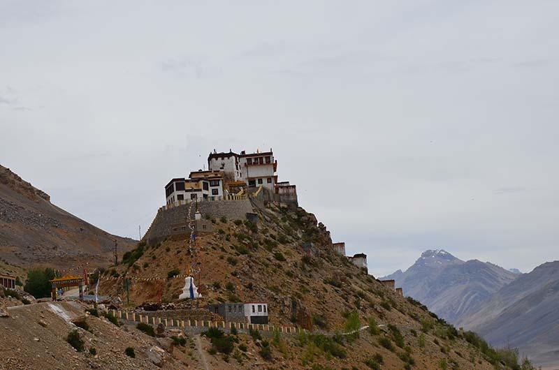 kaza to key monastery