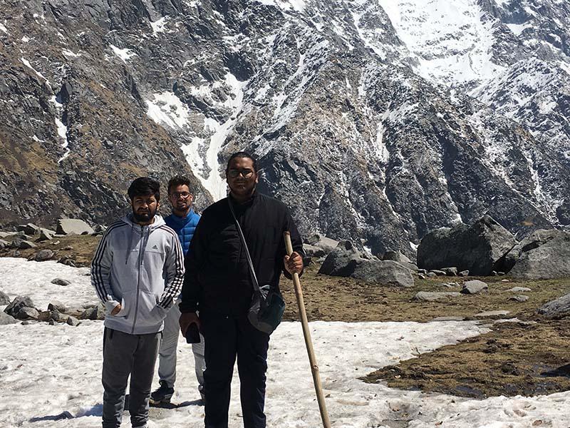triund and snowline trek mcleodganj