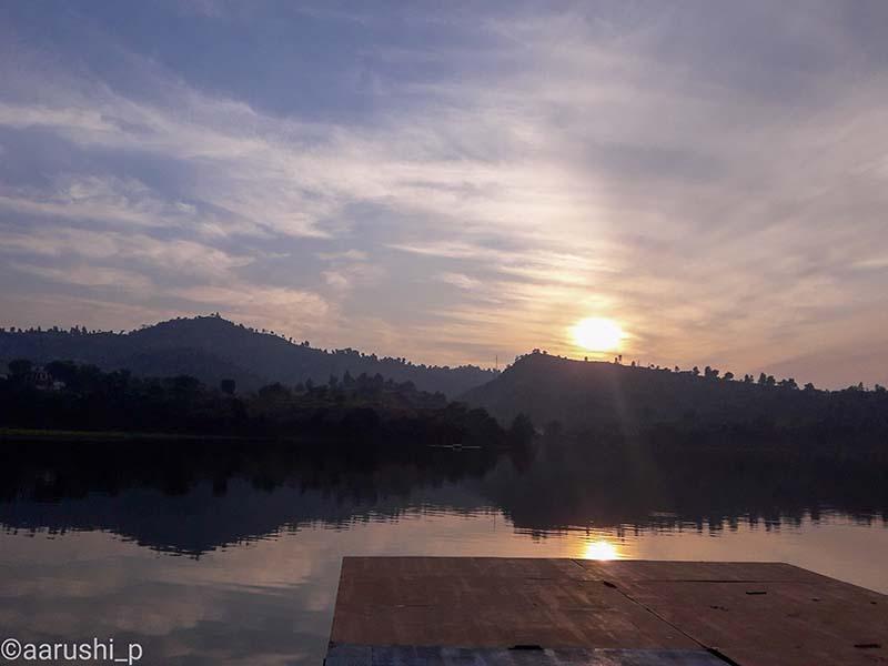 morni hills sunset