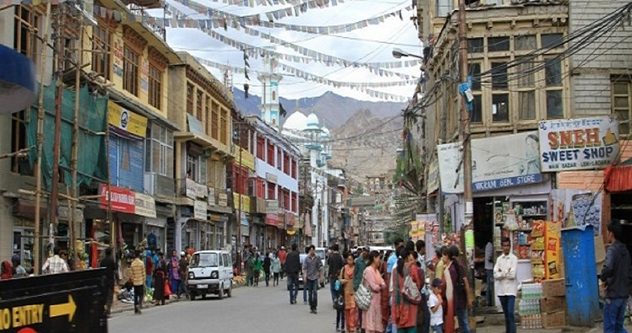 sightseeing in leh city