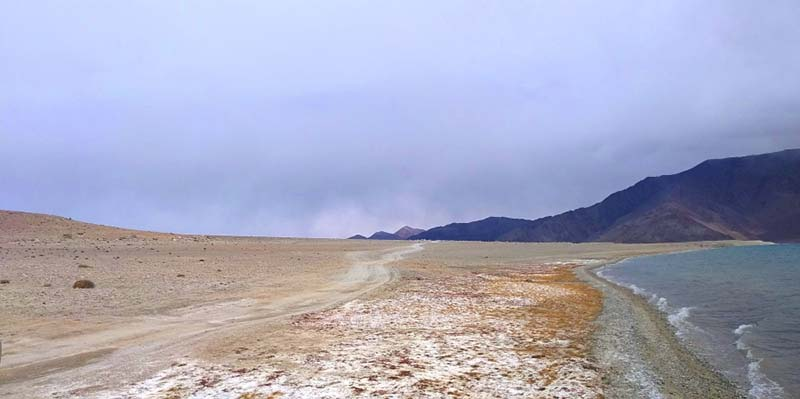 The road from Pangong to Hanle