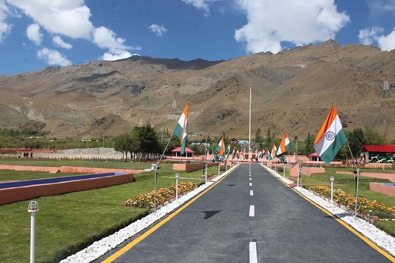 Kargil War Memorial at Dras between srinagar to kargil