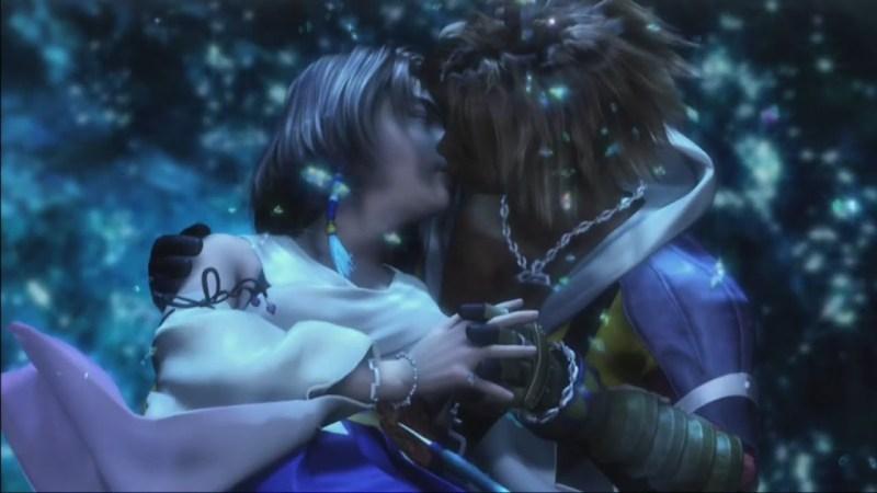 Romantic video game scenes - Final Fantasy X