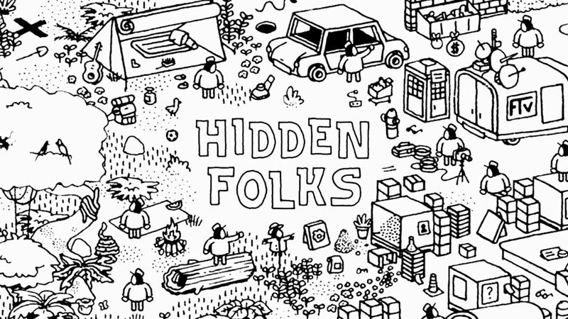 start video games hidden folks