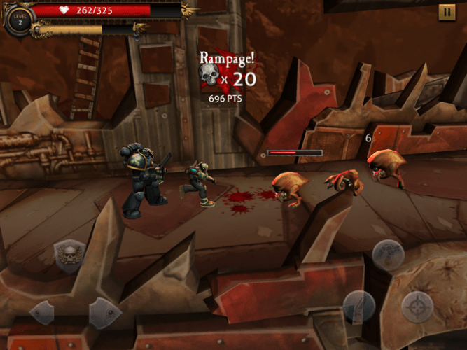40K on iOS (and Android): Carnage