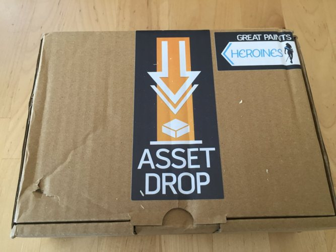 Review: Asset Drop Monthly Painting/Female Miniatures Boxes