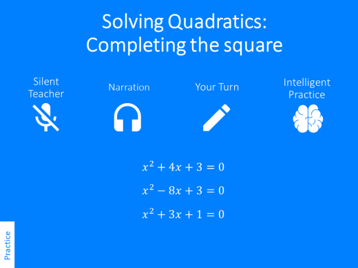 completing the square variation theory