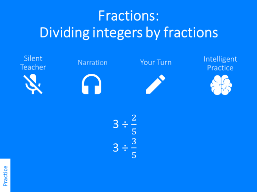 Dividing fractions – Variation Theory