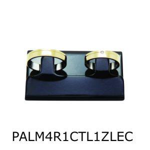 Par de Aliança de Moeda Antiga Reta 4MM com Revestimento em Prata com 1 Risco Reto Lateral e 1 Zircônia em Cima – PALM4R1RRL1ZEC