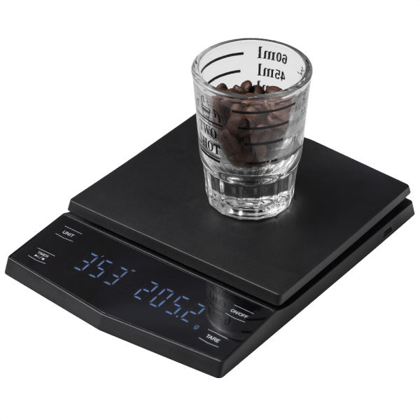 RechargeableCoffee Scale With Timer BrewGear.store Equipment