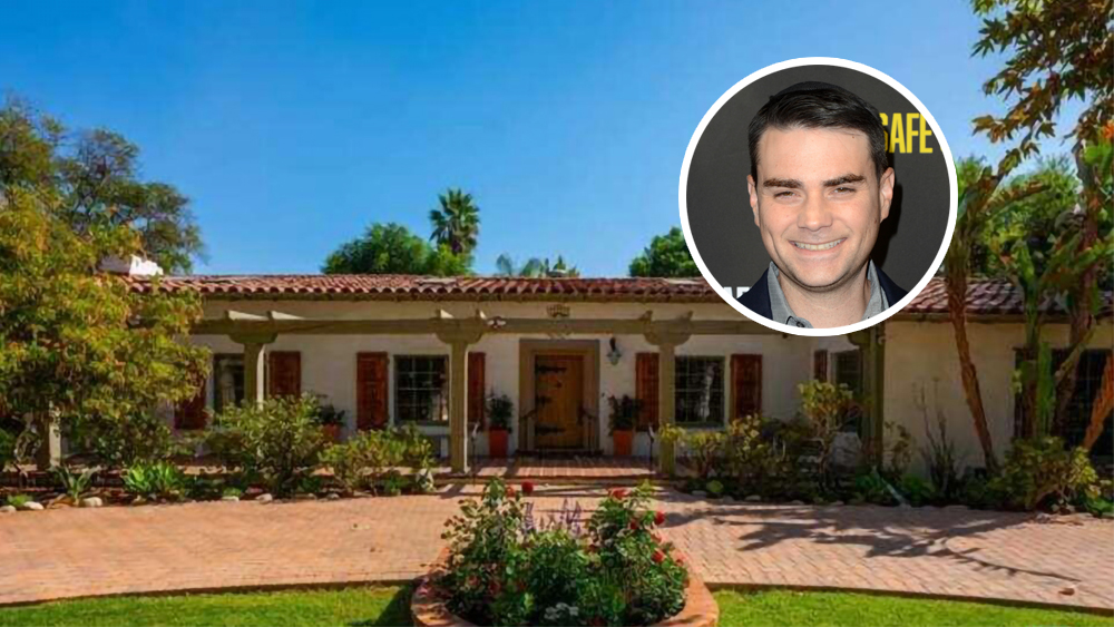 Ben Shapiro Lists 1930s Spanish Revival-Style Compound