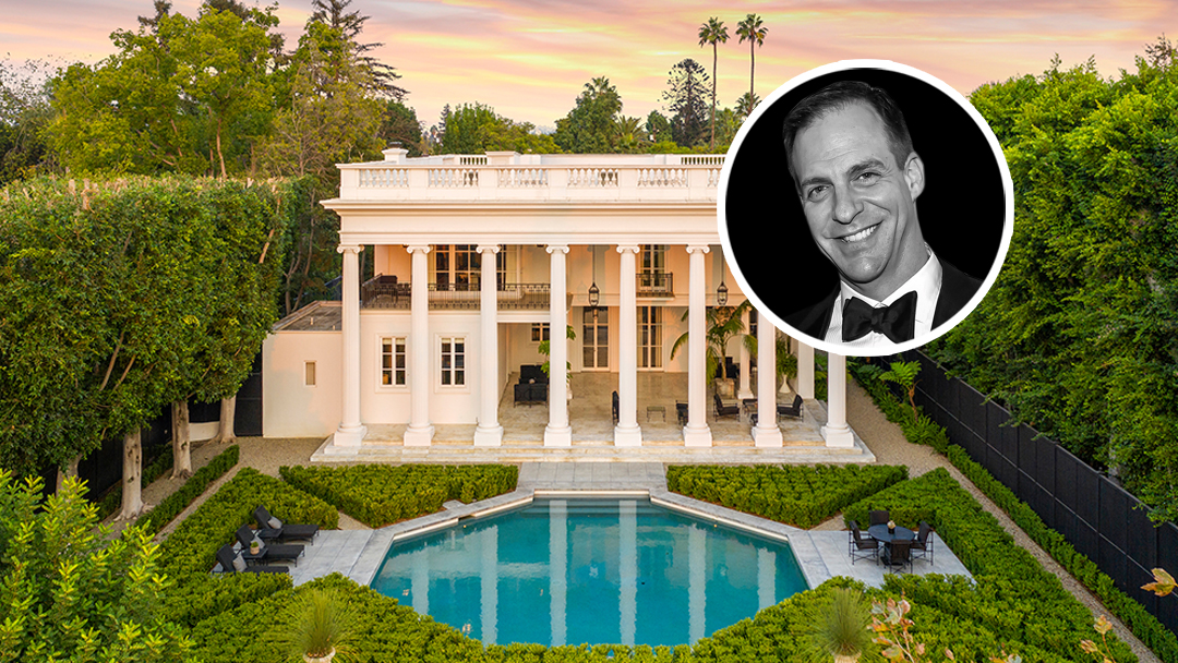 Showbiz Exec Patrick Moran Lists Grand Hancock Park Mansion