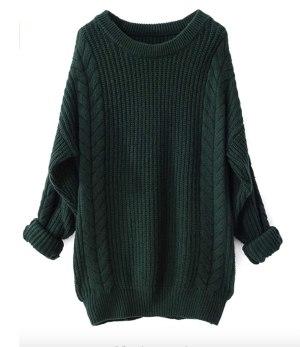 Amazon Oversized Knit Sweater