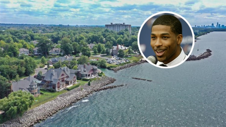 Tristan Thompson Lists His Lakefront Ohio House - Variety