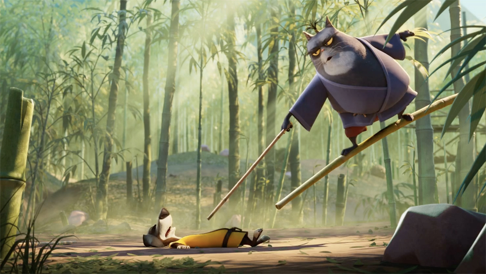 First Look: Animated Comedy 'Blazing Samurai,' Starring Michael Cera, Samuel L. Jackson, Ricky Gervais (EXCLUSIVE)