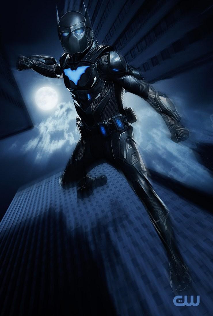 Revelan las primeras imágenes de Batwing en Batwoman camrus johnson luke fox