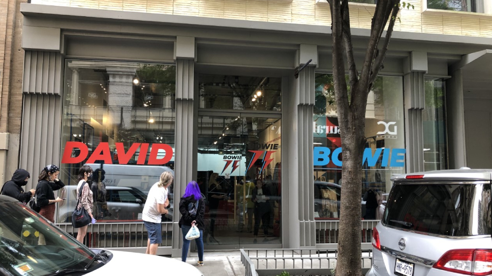 David Bowie '75' Pop-Up Stores Open in New York and London