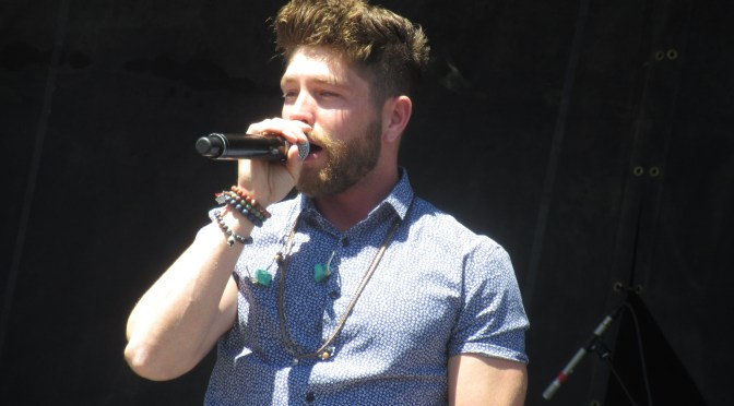 Photo Gallery: Chris Lane Performs At ACM's Party For A Cause
