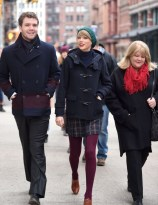 """51612680 """"Shake It Off"""" singer Taylor Swift goes to lunch with her brother Austin and parents Andrea and Scott in Tribeca on December 22, 2014 in New York City, New York. Taylor and her family are getting ready to celebrate Christmas in the Big Apple this year... FameFlynet, Inc - Beverly Hills, CA, USA - +1 (818) 307-4813"""