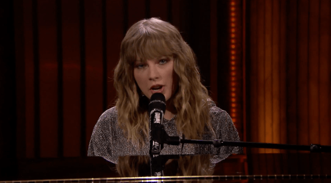Taylor Swift Performs on Jimmy Fallon After His Mom Passed Away and Moves Him to Tears