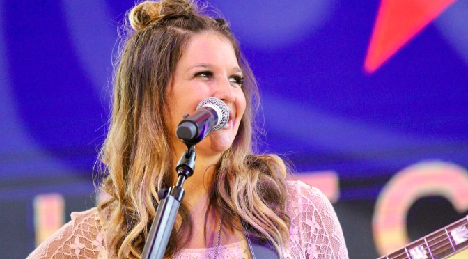 "Mallary Hope Performs New Music During ""CMA Fest"""