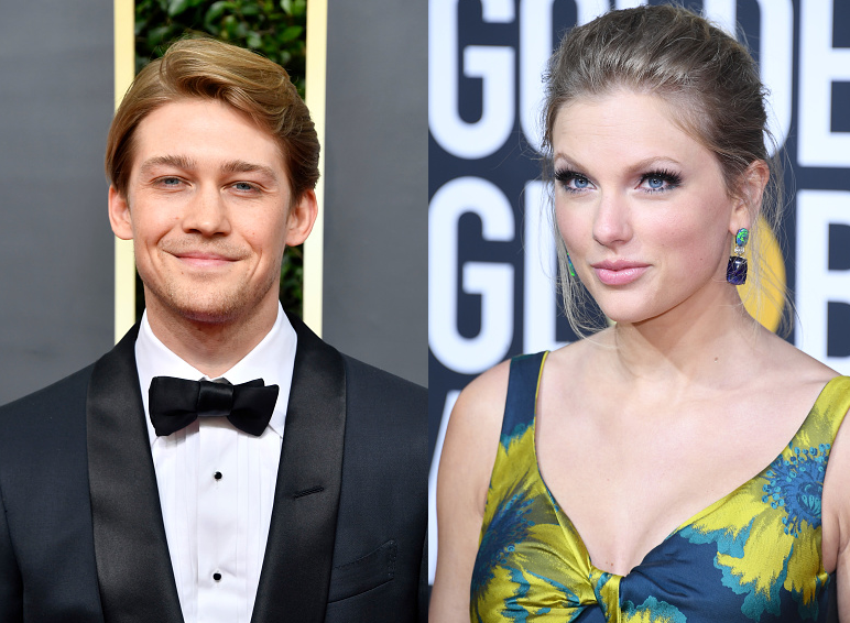 Taylor Swift + Joe Alwyn Attend the Golden Globes!