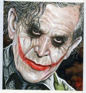 George W. Bush as the Joker