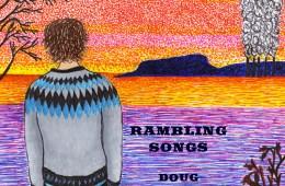 Doug MacNearney rambling songs album artwork