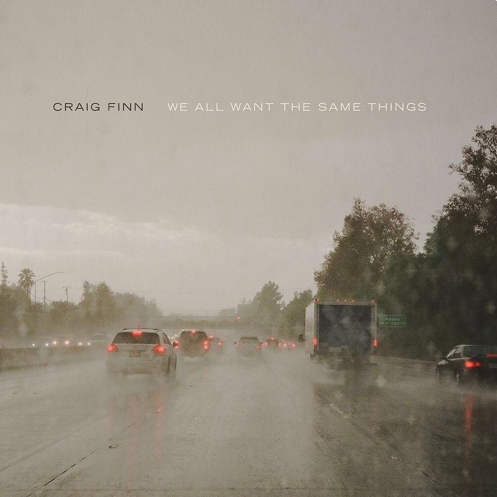 Craig Finn We all want the same things album art