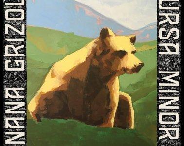 nana grizol ursa minor album art painting of bear