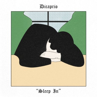 dicaprio sleep in album art