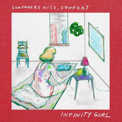infinity girl somewhere nice someday album art