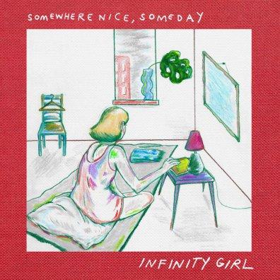 infinity girl somewhere nice someday album art