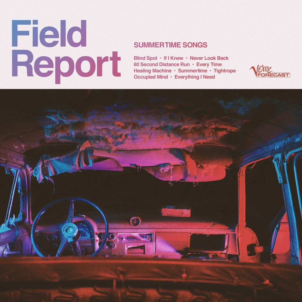 Field Report Summertime Songs album art