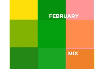 february mix cover art