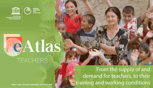 E atlas on teachers (FR-ENG-ESP)