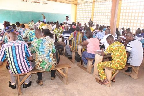 Des syndicalistes en formation en RDC