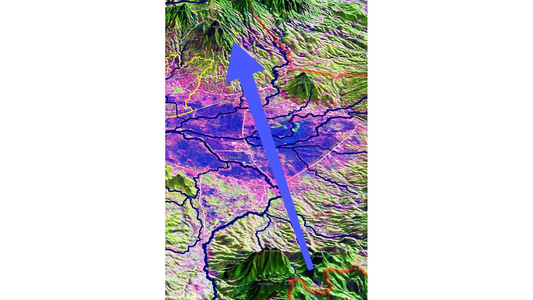Gunung Sembung Hulu Sungai Citarum