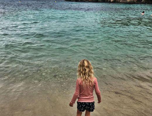 Stranden ved Cala Gat