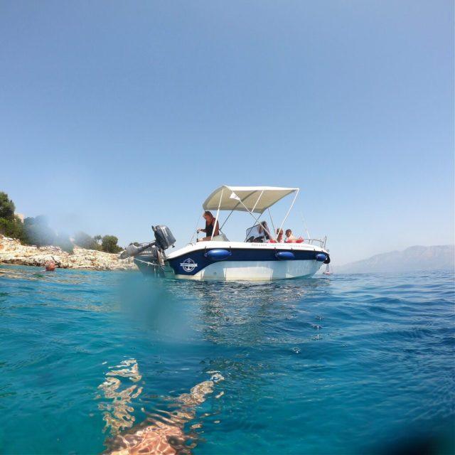 Vores båd, for én dag.