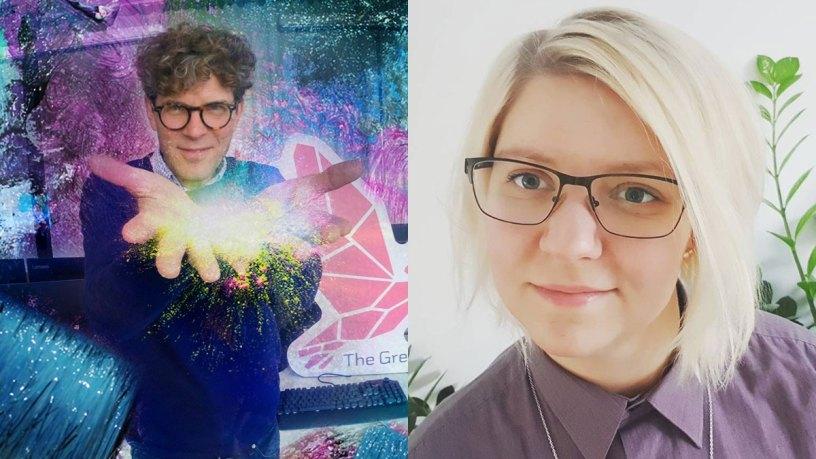 Patrick Standfast och Rosanna Johansson