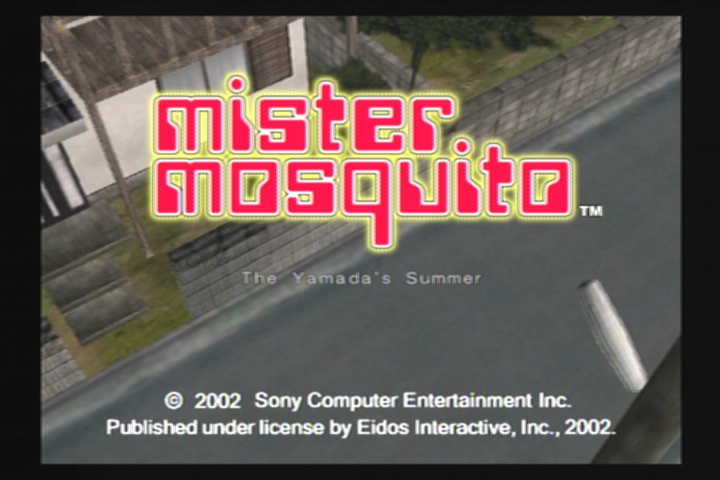 You Missed it for Good Reason: Mister Mosquito