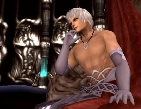 Douchebag Video Game Villains:  Meet Albedo from Xenosaga