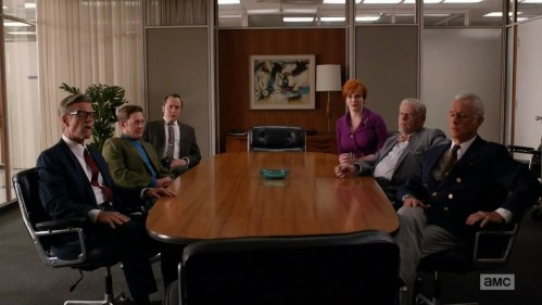 Don Draper rule #80, always leave everyone in the board room confused and angry