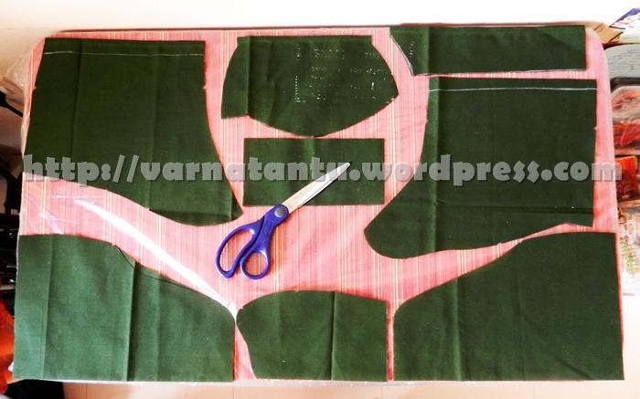 Stitching A Princess Line Blouse (4/6)
